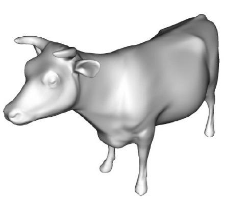 Lambertian cow
