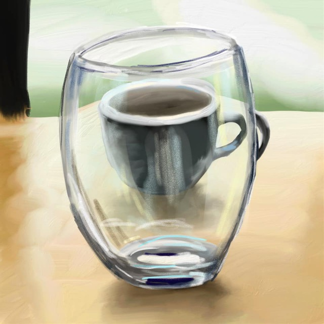 Cups painting