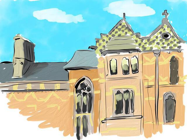 Keble college drawing
