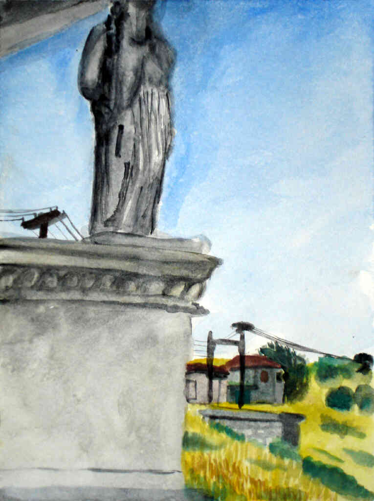 karyatid painting