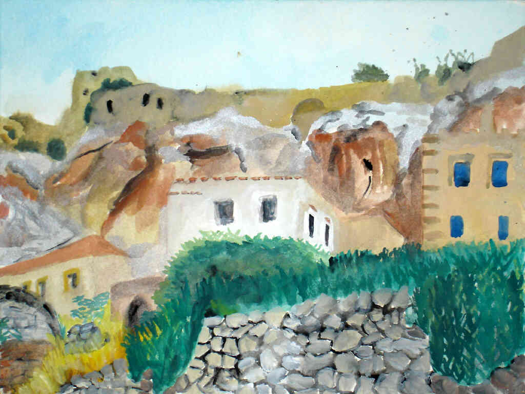monemvassia painting